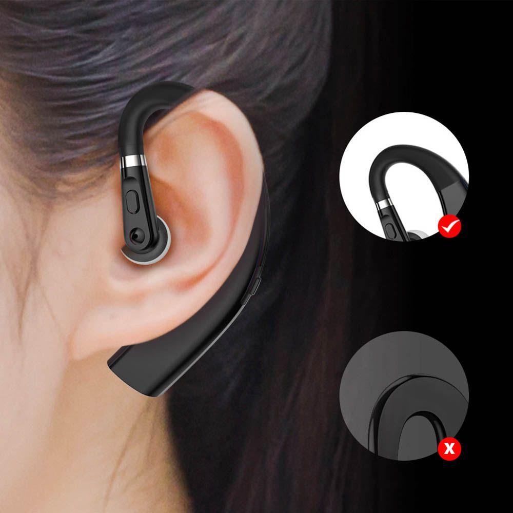 New M11 Bluetooth-гарнитура Беспроводные наушники HandsFree Одиночные наушники-ушные наушники с HD-микрофоном для смартфонов с розничной коробкой