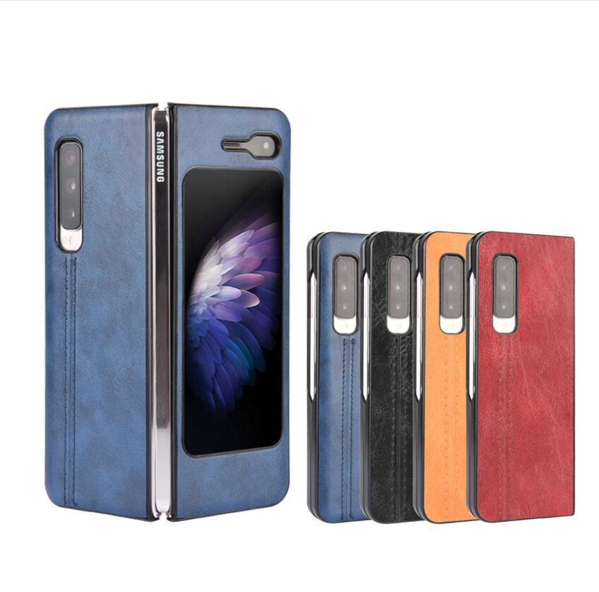 삼성 갤럭시를 들어 W20 5G 케이스 패턴 여주 피부 PU 가죽 및 PC 책 표지 삼성 5G 전화 케이스를 접어