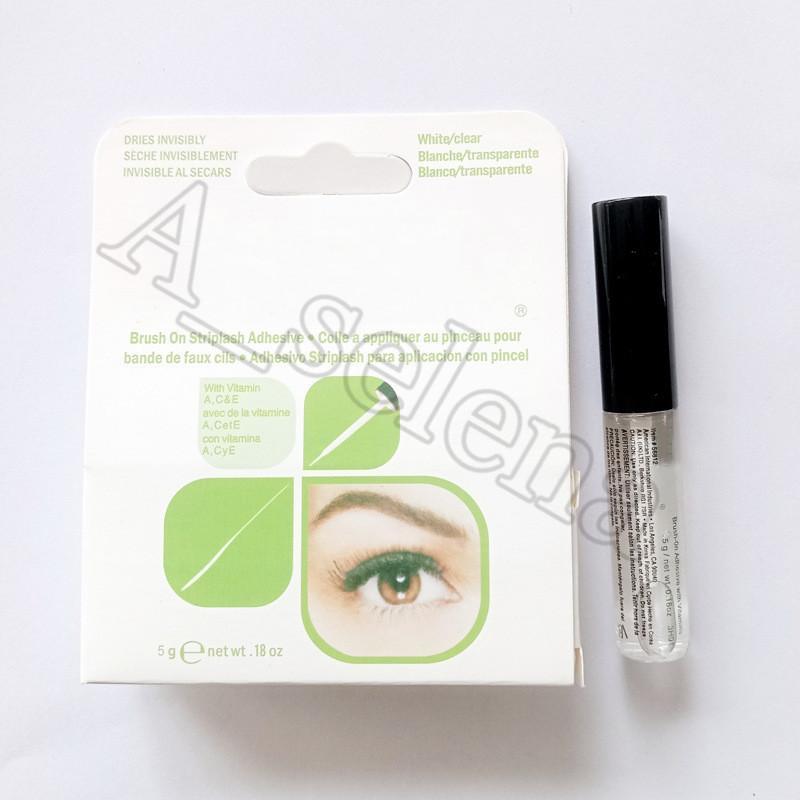 2020 Nuovi adesivi per ciglia di arrivo Adesivi Eye Lash Colla Adesivi Adesivi Vitamine Bianco / Cancella / Nero / 5G Nuovo strumento di trucco imballaggio