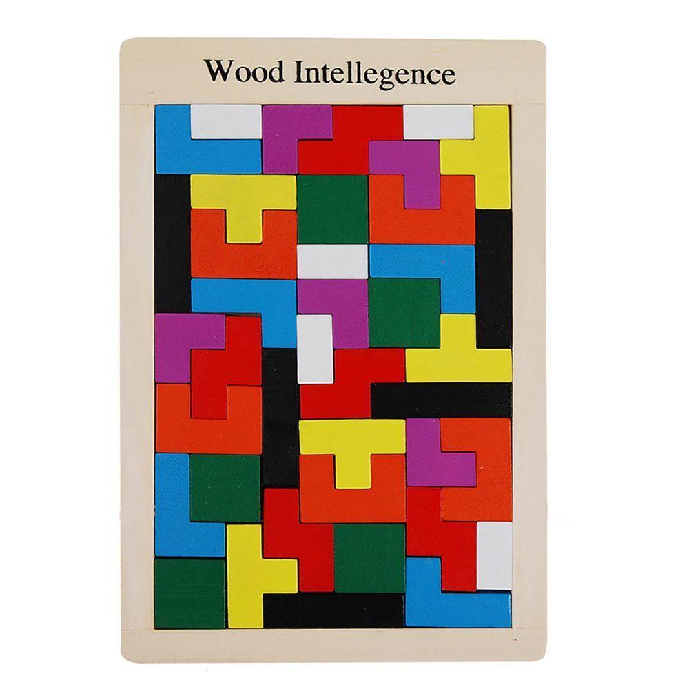 Деревянные головоломки Дидактическая 40 шт разведки Обучающие игрушки