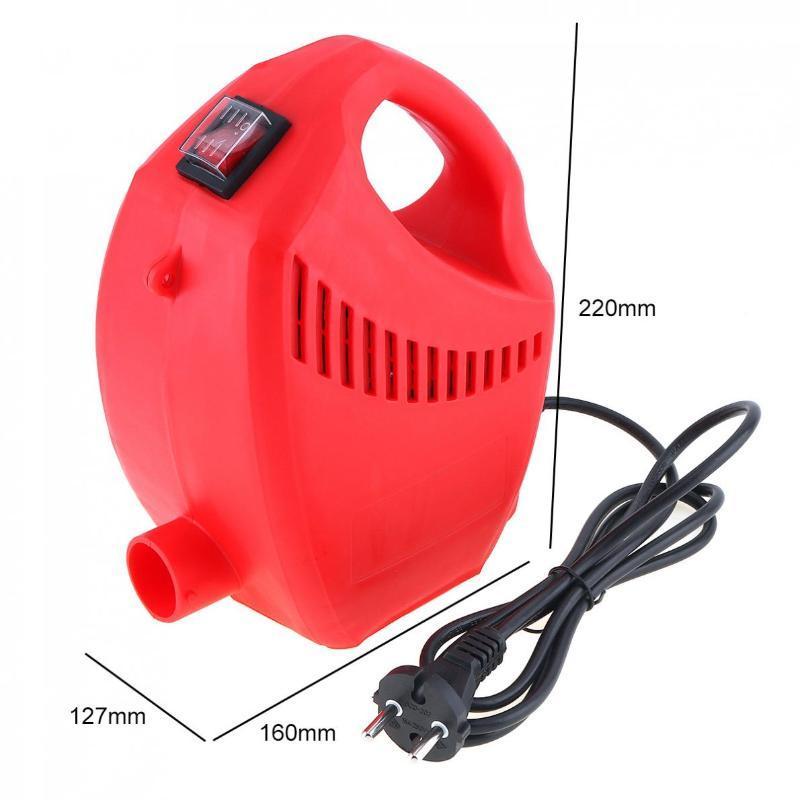 110V / 220V 600W высокого давления электрический Краскопульт с 1,8 мм Насадка Caliber и алюминиевый горшок для украшения дома / сада живописи