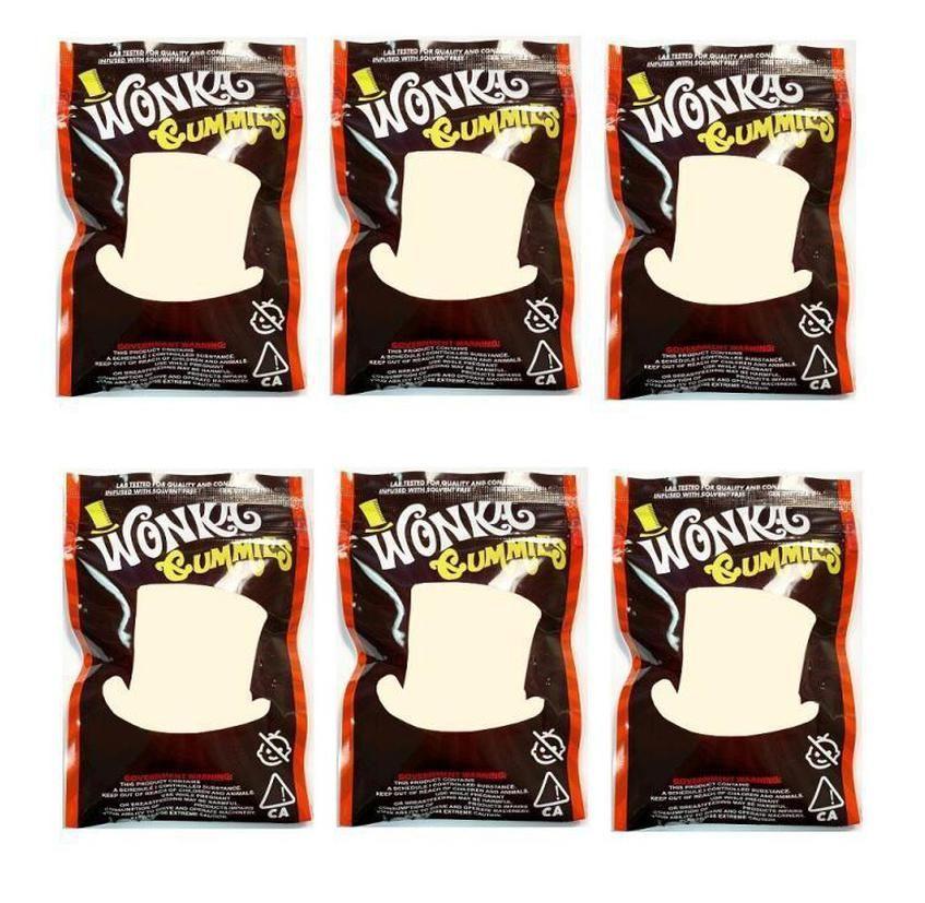 Zipper für Schiffs Wonka 500mg Smeproof Hot 24 Beutel-Tabak-Dry Bag Edibles 2020 Bag Verkauf Lagerung Mylar Herb Gummies Kleinblumen XicurOkJBx