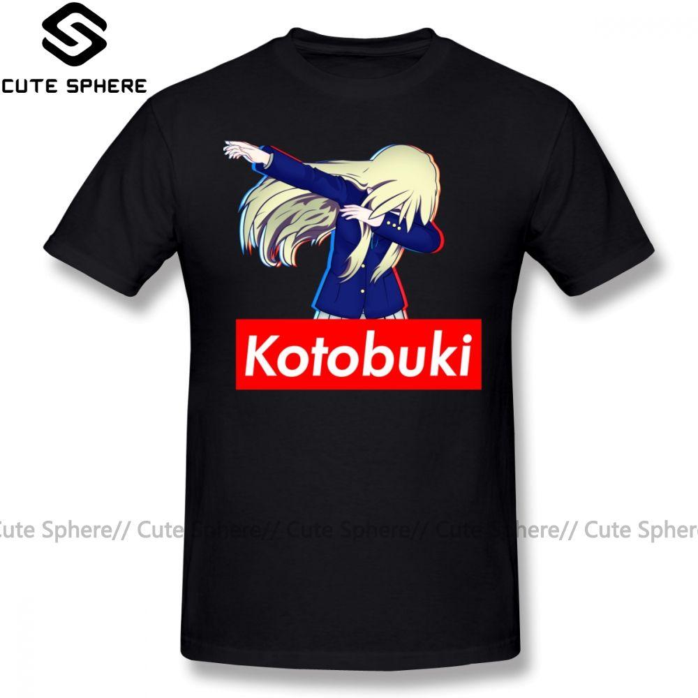 K-On-T-Shirt Mugi ist super T-Shirt Kurzarm Mode-T-Shirt Male gedruckt Fun 100 Cotton 6xl T-Shirt