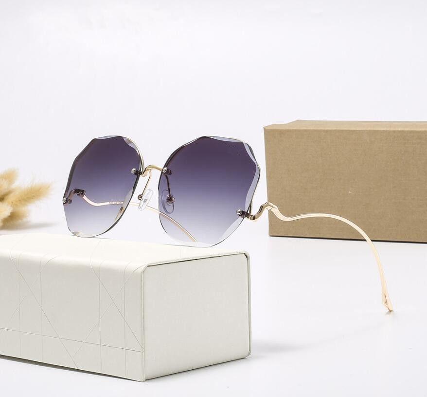 Lunettes de soleil à la mode de la mode polarisée de haute qualité pour hommes femmes Design Vintage lunettes de soleil avec étui et boîte 2209H