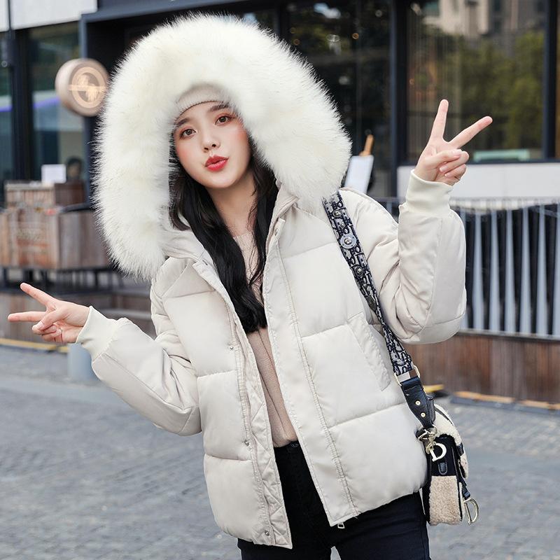 abrigo de invierno 2020 mujeres gruesas chaquetas de la capa caliente chaqueta con capucha ropa exterior sólida casual chaquetas para mujer
