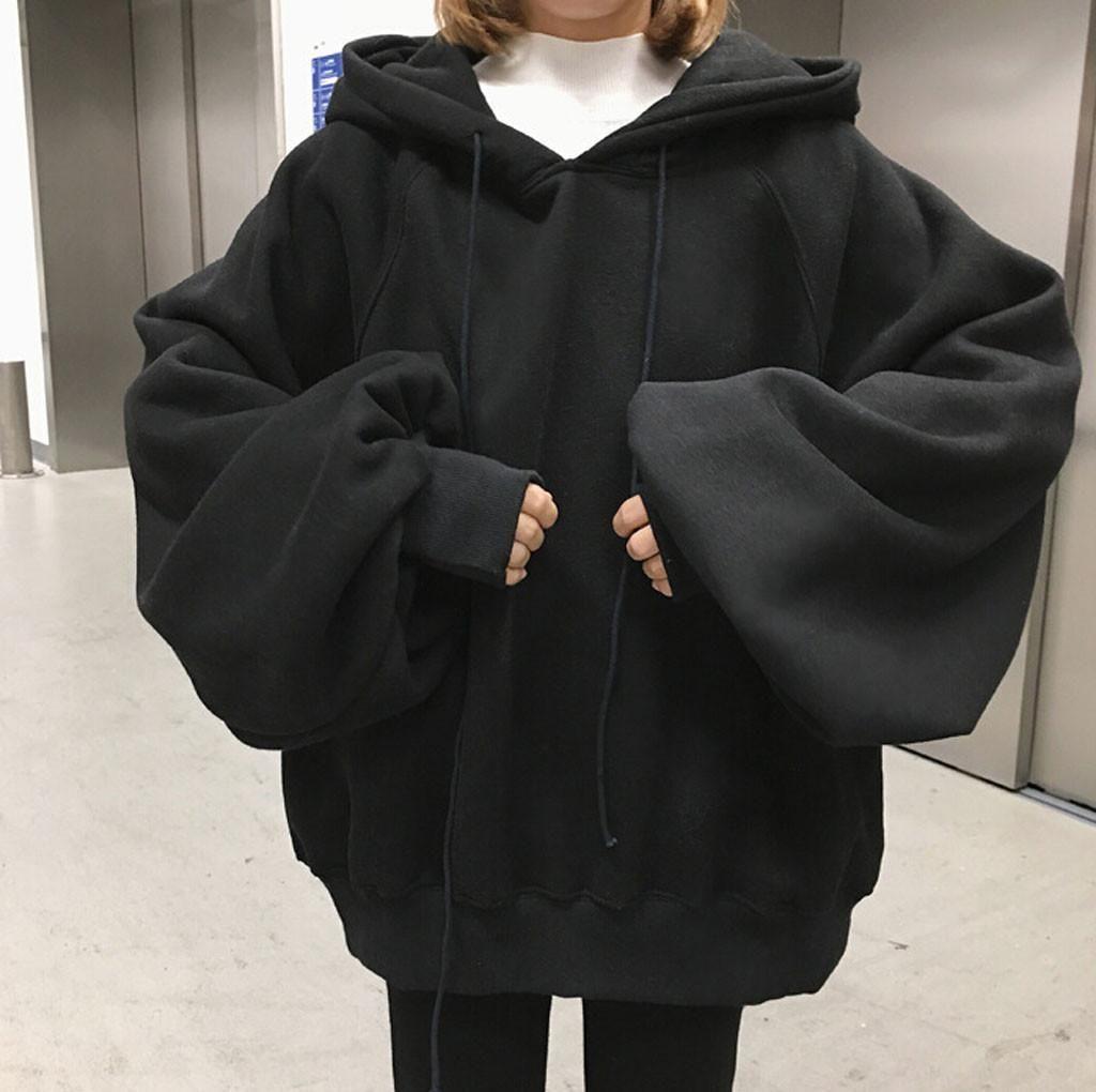 ZITY 2020 Solid Color Frau Hoodies Sweatshirts Mode Oversiaze Kapuze Hip Hop Hoody Mens MarkeHoodie Street 0916
