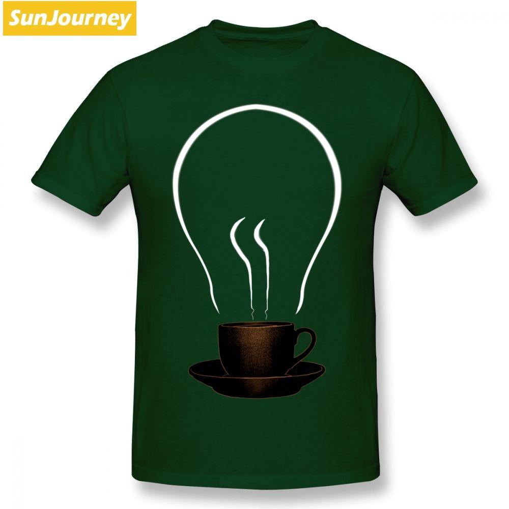 la puissance de café idée tasse puissance hommes fantaisie humour léger t-shirt hiphop geek coton grande taille manches courtes t personnalisés shirts