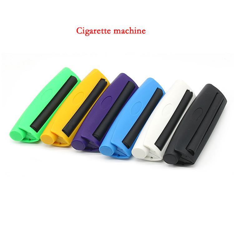 Cheap Rolling Machine plastica 110 millimetri manuale Cigarette Maker Roller tabacchi mano di tabagismo della carta di rotolamento nuovi accessori di arrivo fumatori