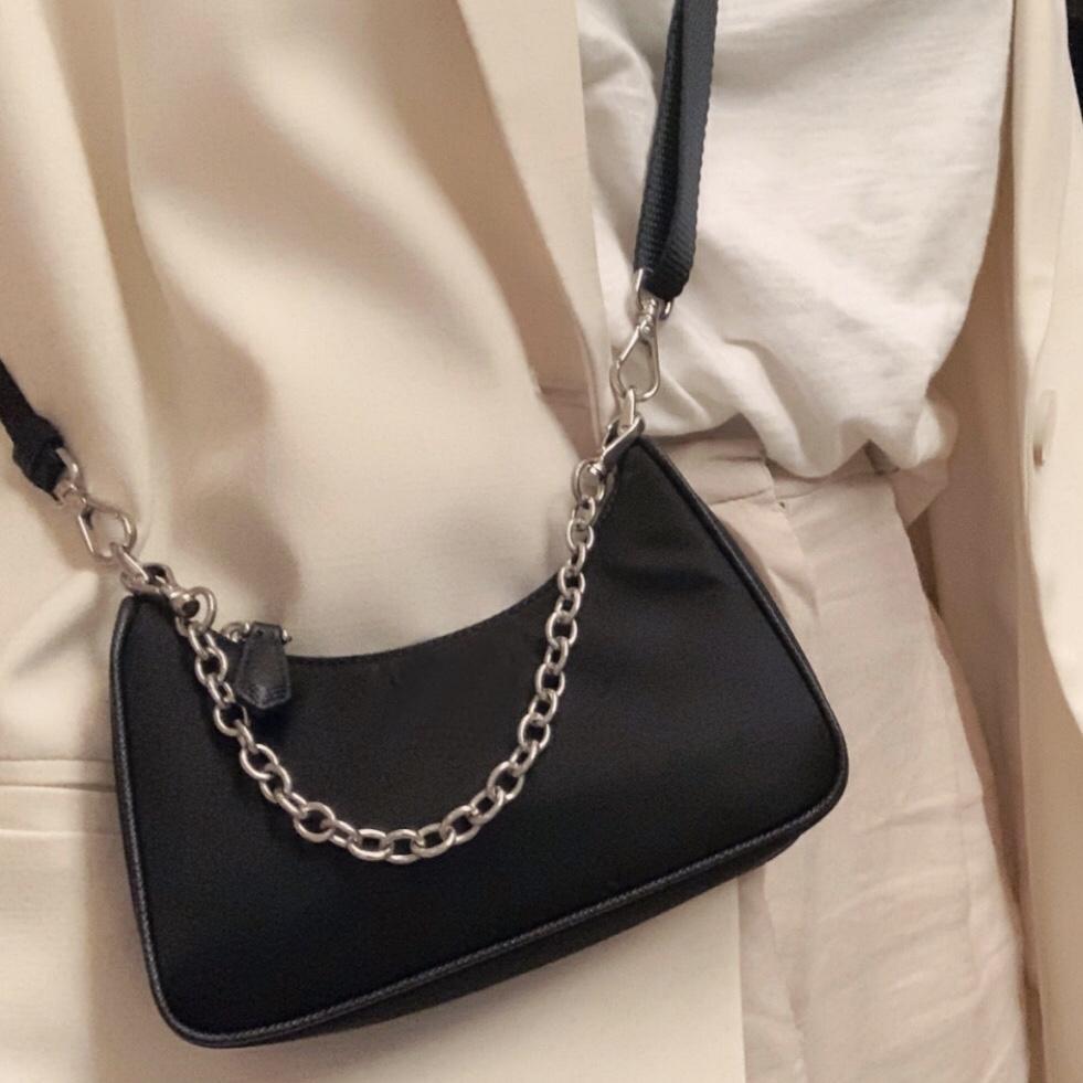 도매 핸드백 미니 호보 지갑 여성용 어깨 가방 크로스 바디 가방 여성 메신저 가방 레이디 호보 Satchel 캔버스 체인 지갑