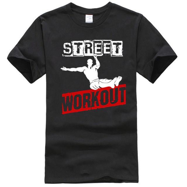 Nuovo 2020 modo di cotone manica corta T-shirt gratuito in strada Runer Parkour allenamento di esercizio Mens Tee Shirt