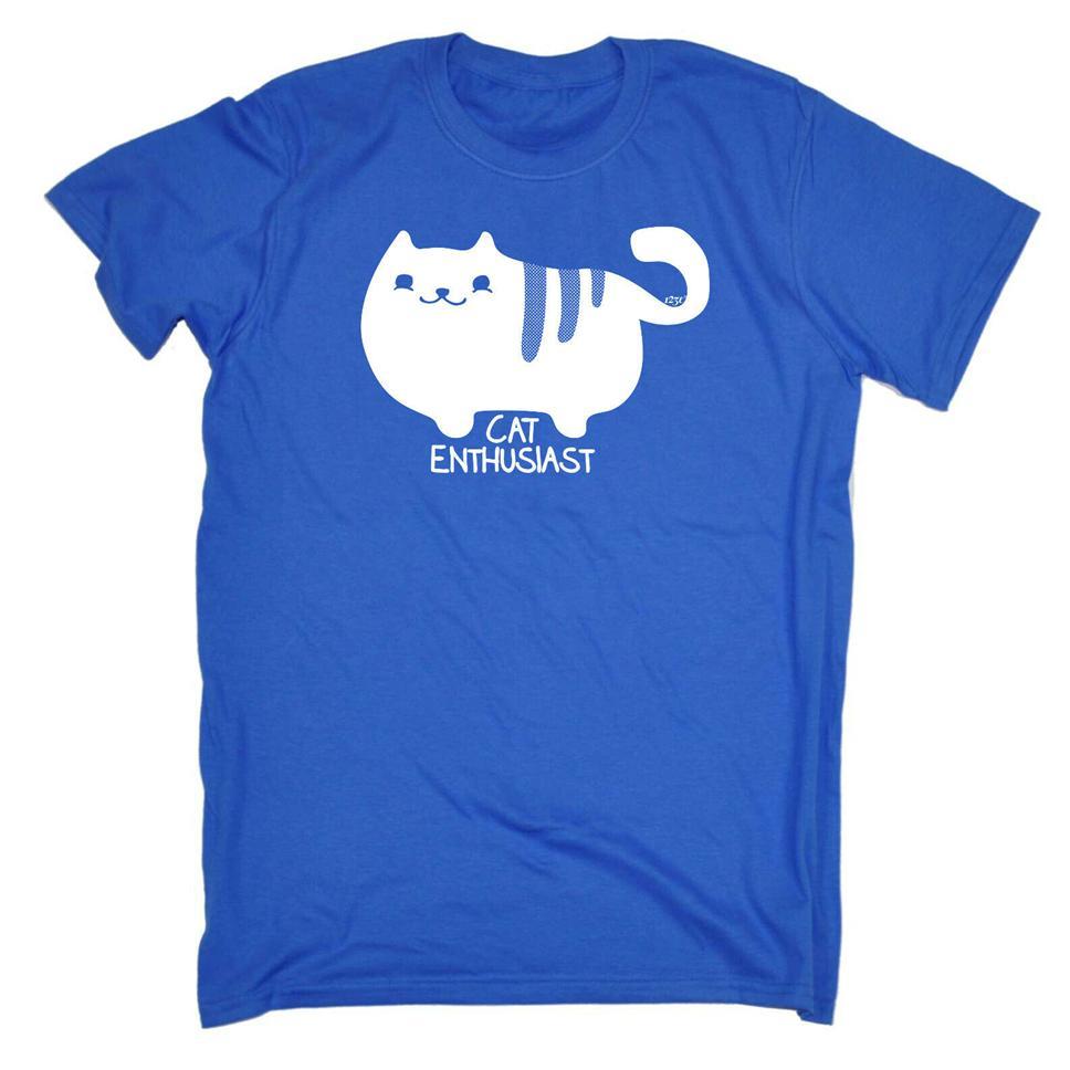Komik Çocuk Çocuk Tişört Tee Tişörtü - Kedi Tutkunları Yeni Unisex Komik Tee Shirt