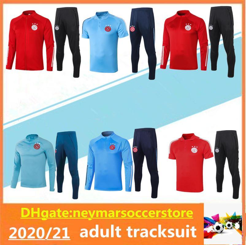 2020 2021 Ajax FC Survêtement Soccer Jersey 20 adultes 21 Ajax costume formation des hommes shirt ZIYECH TADIC de football maillot Survêtement