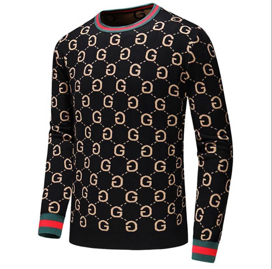 Manga curta camisola homens de luxo designer camisola marca italiana de moda Outono Mulheres Casual Sweater clássico pulôver # 002