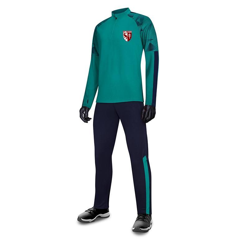 Football Club de Metz FC Uomo Bambini all'ingrosso tuta sportiva di calcio di calcio Imposta Giacca manica lunga preparazione invernale caldo Sportswear