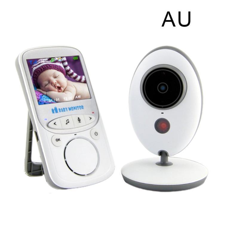 Wireless Digital Baby Monitor schermo LCD da 2.4 pollici audio bidirezionale Video Baby Monitor Notte infantile sveglio Camera
