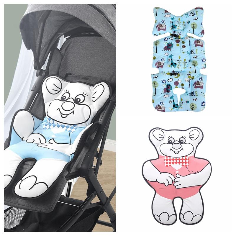 Baby Stroller Seat Pad Infant Child Cart Mattress Mat Soft Car Seat Cushion Kid Carriage Pram Liner Trolley Accessories