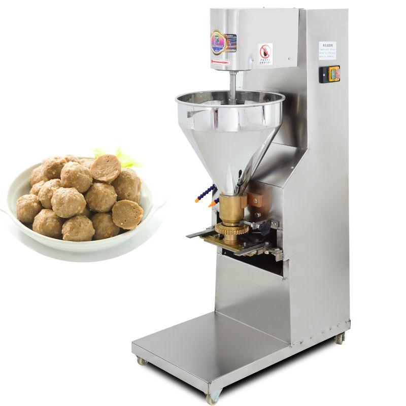 Ticari elektrikli sığır köfte haddeleme makinesi vejetaryen köfte makinası üreticileri doğrudan satış çırpıcı Yüksek verim köfte