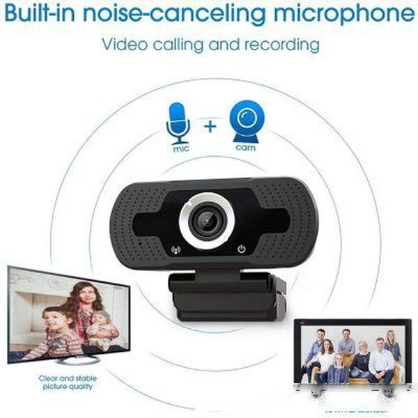 Conferência de vídeo em rede ao vivo Camera unidade grátis com trigo Curso rede HD USB Computer Câmera 1080P