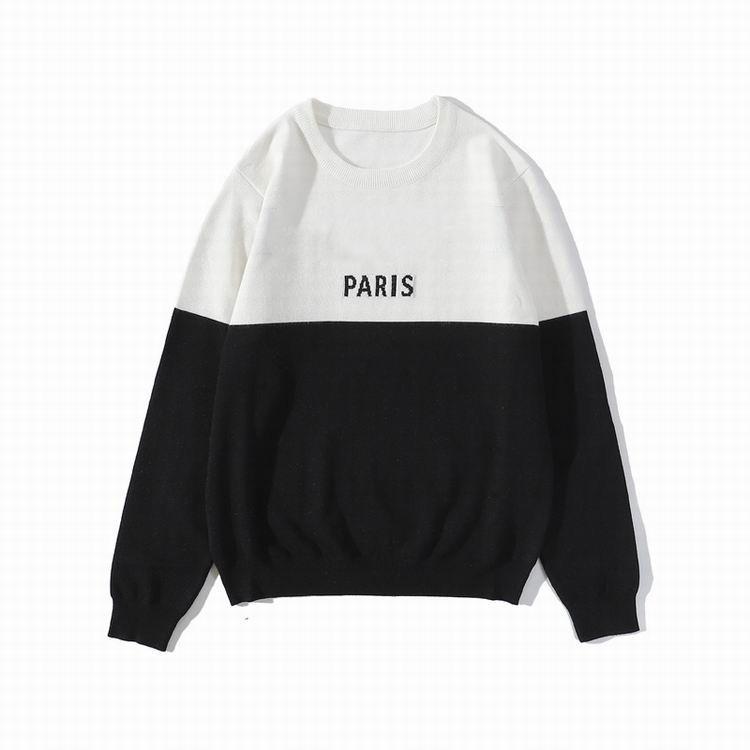 20ss diseñador para mujer para hombre del suéter LUXE Cartas Pullover Hombres camiseta de manga larga camiseta de calentamiento activo del bordado de los géneros de punto ropa de invierno
