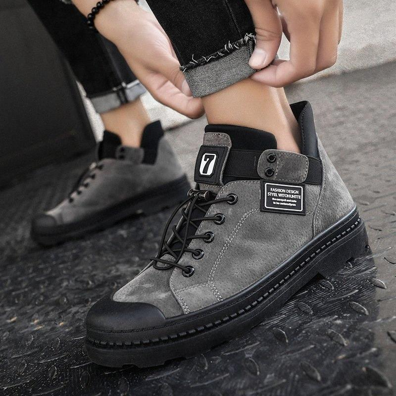 LASPERAL2019 Winter Mens Boots Ankle Warm PU Leather Male Waterproof Shoes Chaussure Shoes For Men Boots Footwear Male Sneakers w7UW#