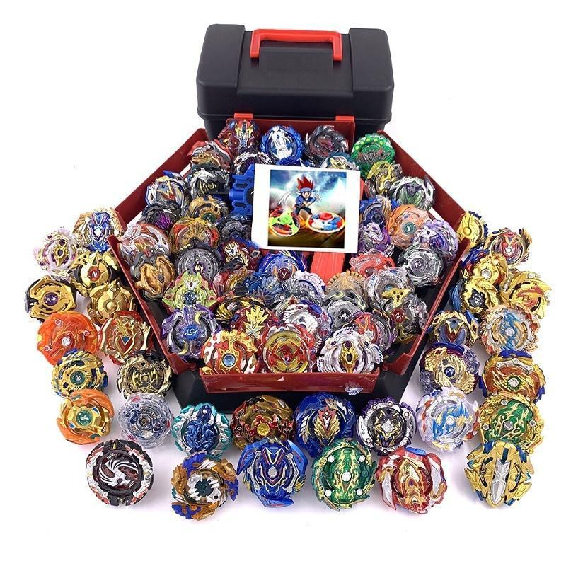 Bey Set For Y200109 Metal Toys Tops Launcher Boy Top Children Beyblade Beyblades Box Blade Burst bbyWY bde_luck