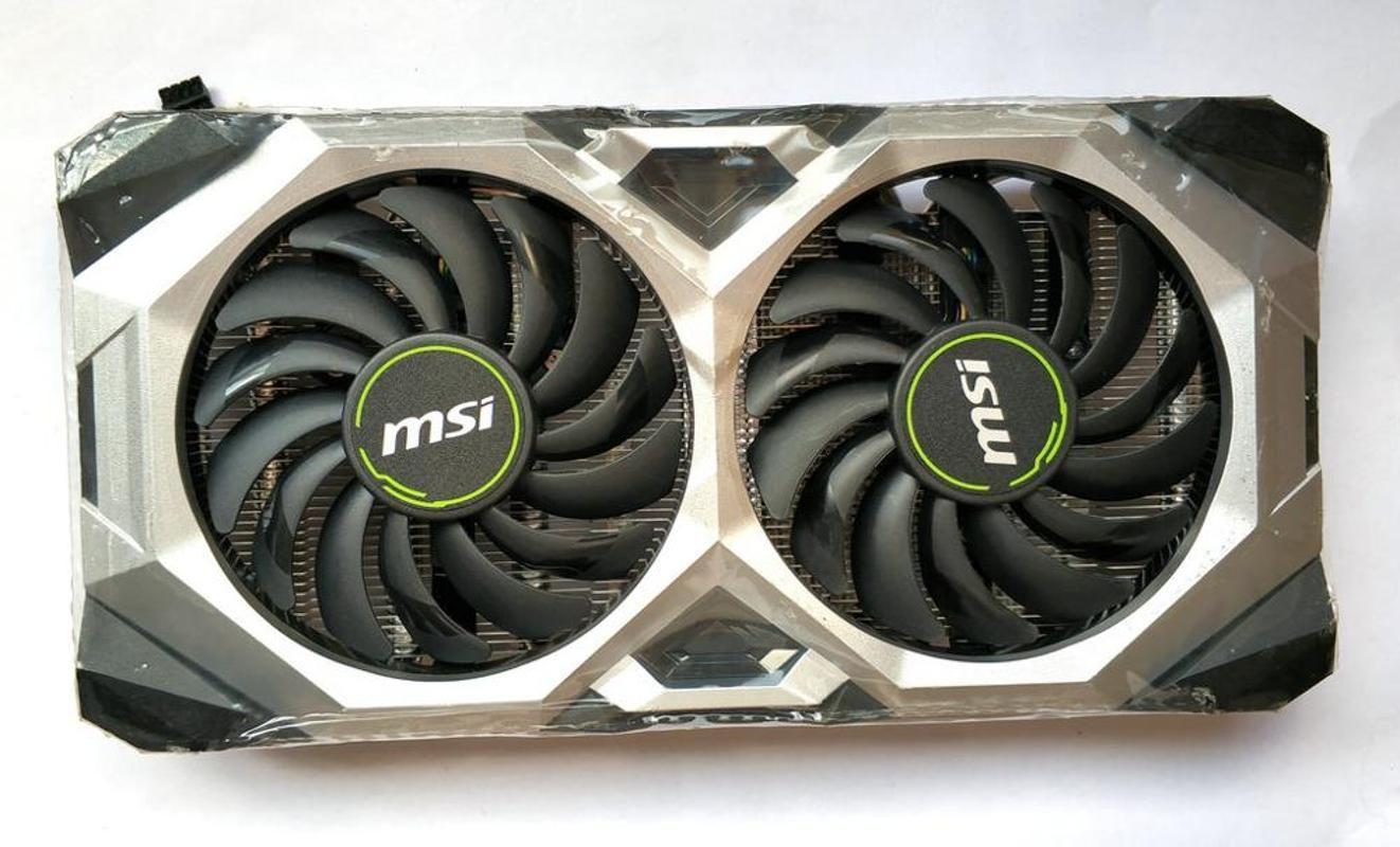 Original para MSI GeForce RTX2060 Súper VENTUS OC gráficos de vídeo ventilador de la tarjeta enfriador con disipador de calor