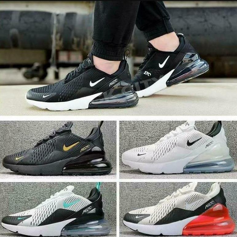 2020 nuova marca di 270 uomini delle donne Running Shoes Triple nero core bianco Classic AIR 27C Regency viola Athletic Turismo a piedi Sport Sneakers