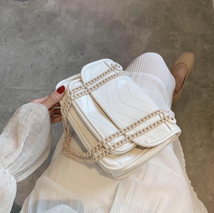 Мода Женщина бродяги дамы лоскут мешки плеча девушка Ins Crossbody цепь Totes сумка сумка лето