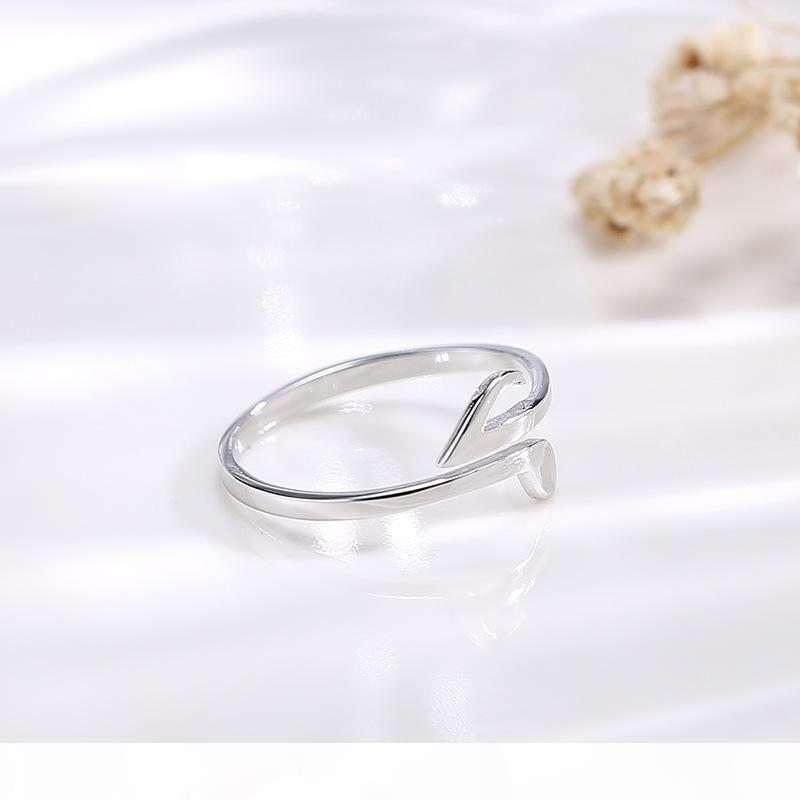 2020 Роскошная Halloween Wanying Jewelry Factory Direct Note кольцо S925 стерлингового серебра японский и корейский Популярные Простой Интернет Red C