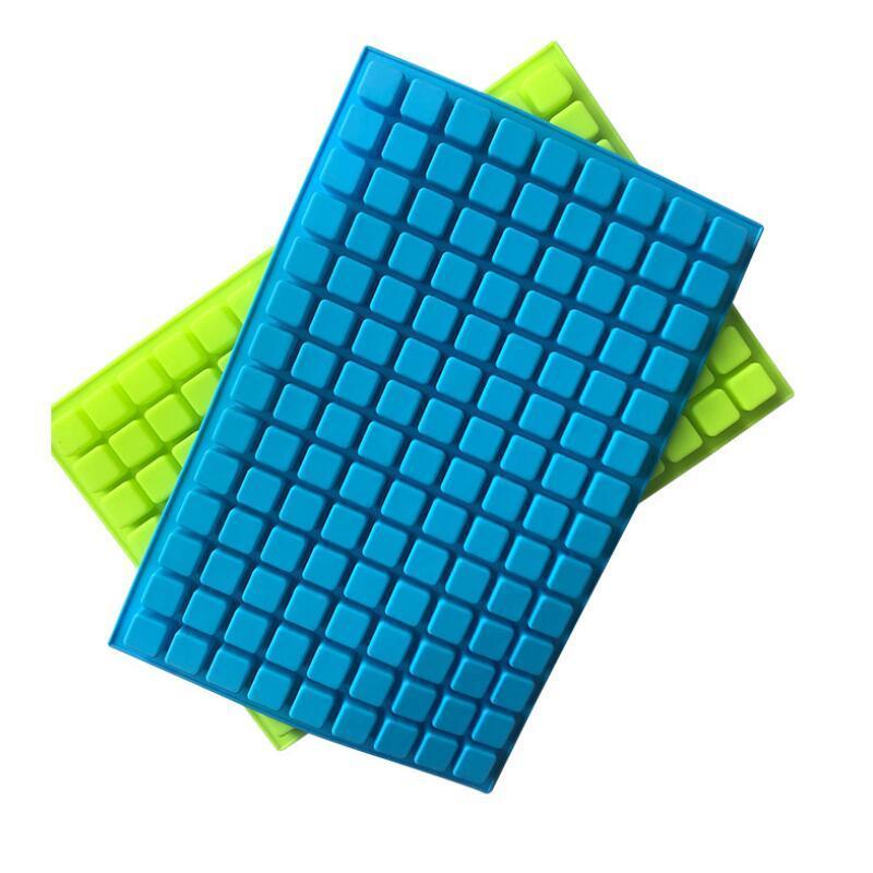 126 Lattice Quadrat Eis-Form-Werkzeuge Jelly Backen Silikon-Party Form Dekorieren Schokoladen-Kuchen-Würfel-Behälter Candy Kitchen DHC1770