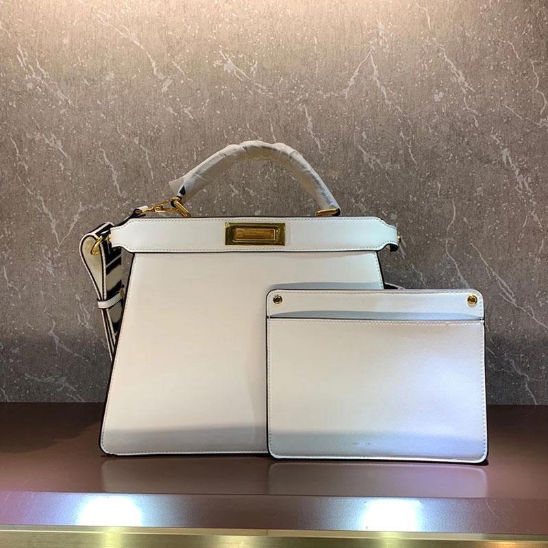 Large Tote Bag Women Handbag Purse Genuine Leather Detachable Wide Shoulder Strap Bag Side twist Lock Inner Pocket Fashion Shopping Bags