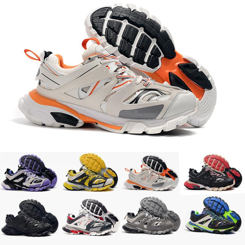 Top Quality Release 3.0 Tess S Paris Triple S Sneakers clear sole Mens Shoes For women Men Sneakers Trainers Baskets