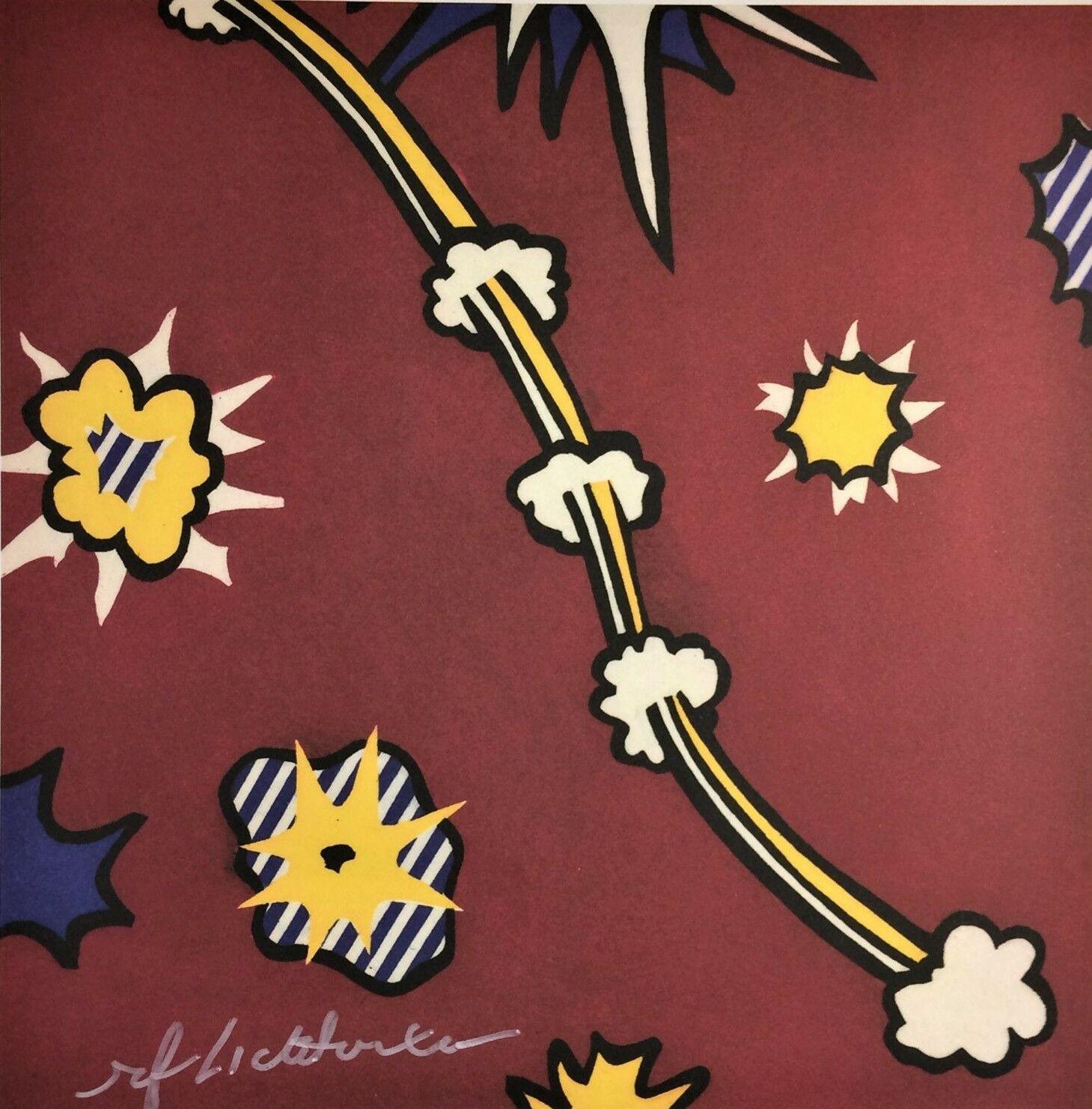 Roy Lichtenstein WHAAM Home Decor Artisanats / HD huile d'impression Peinture Sur Toile Art mur toile Photos 7524