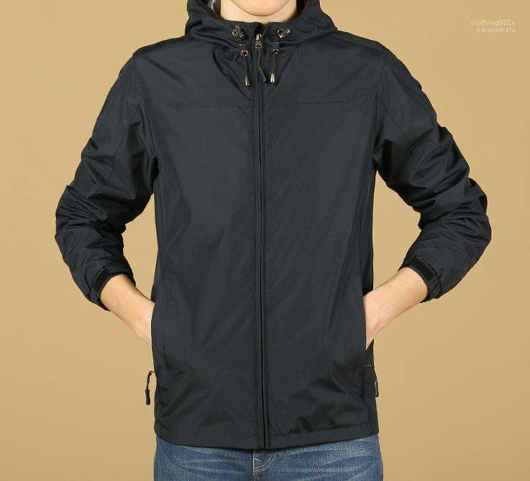 Pure Color Laufen Jogging Windjacke Dünne Jacken Regenjacken Herren Designer-Jacke Frühling Herbst Herren Designer-Jacken beiläufiges