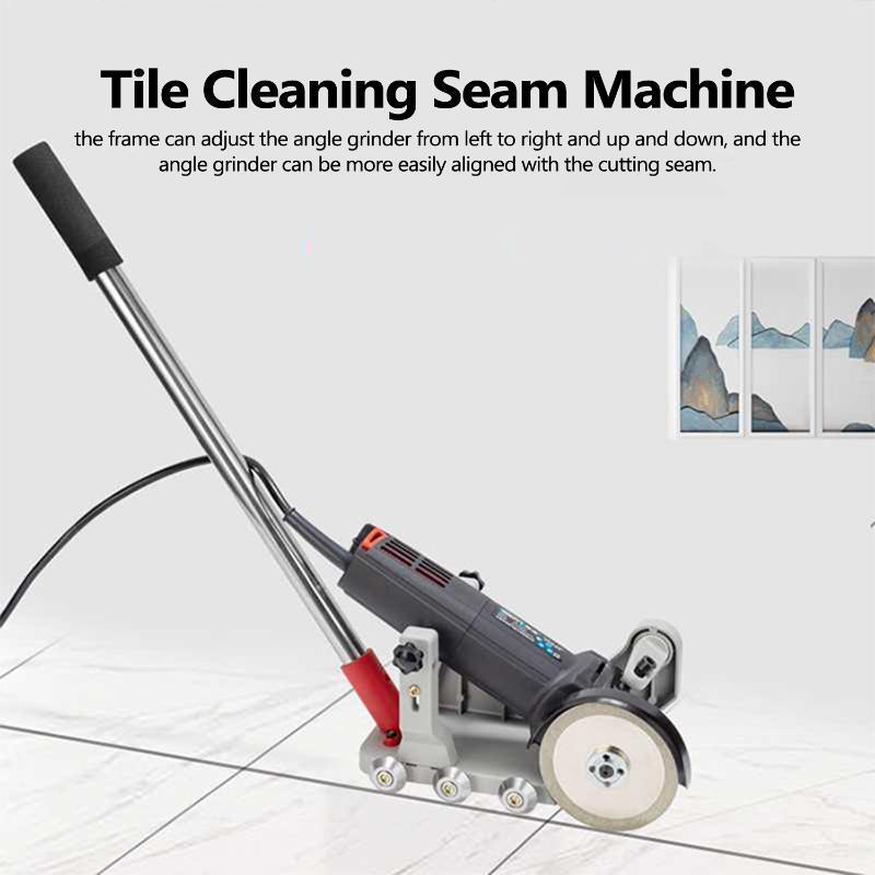 أداة القوس البلاط آلة تنظيف التماس التعديل القوس الطابق بلاط السيراميك الفجوة آلة تنظيف حامل الإطار