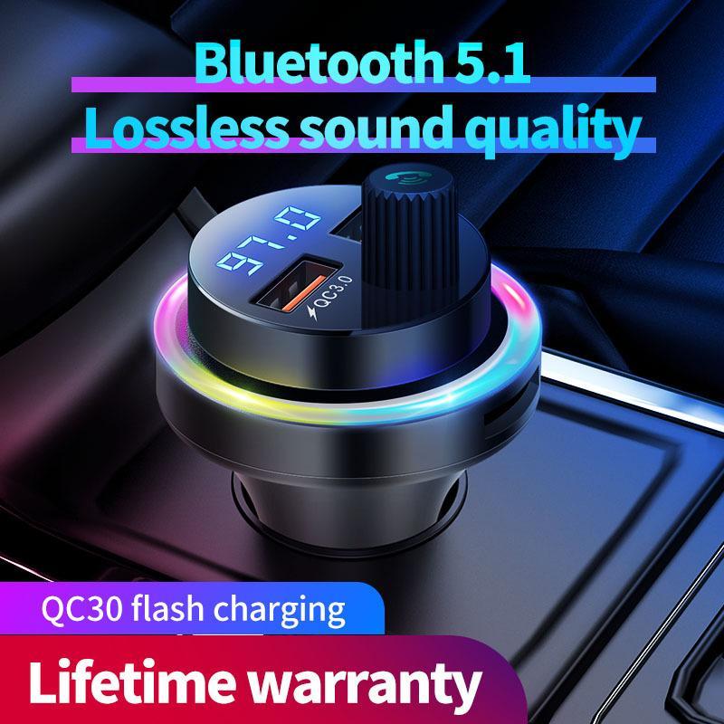Neue Auto-MP3-Player Car Kit Zubehör Ladegerät Bluetooth-Empfänger FM-Transmitter MP3 Autos