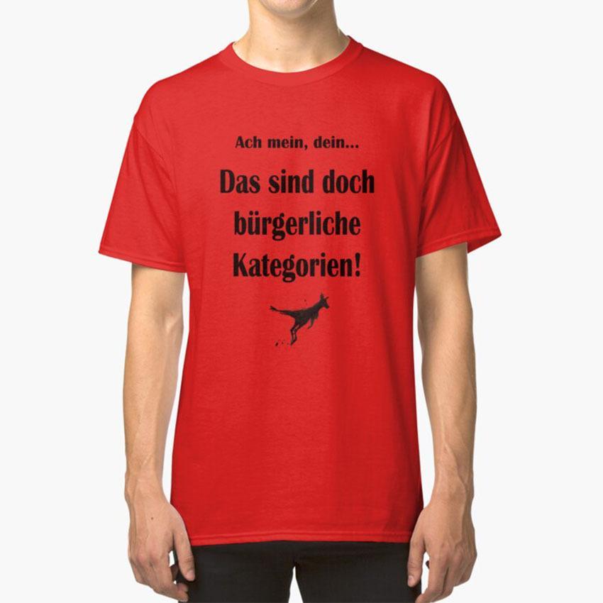 Commoner Categorías T - Camisa Comunista canguro Marc Uwe Sondeo pequeño divertido del artista no es gracioso Comunismo canguro Crónicas