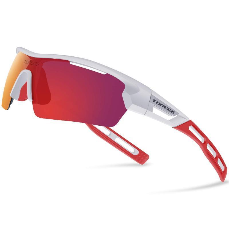 Güneş Gözlüğü 2021 Polarize Spor Erkekler Kadınlar Için 4 Lenes ile Koşu Sürüş Balıkçılık Golf Beyzbol Marka Tasarımcısı Gözlük Gözlük