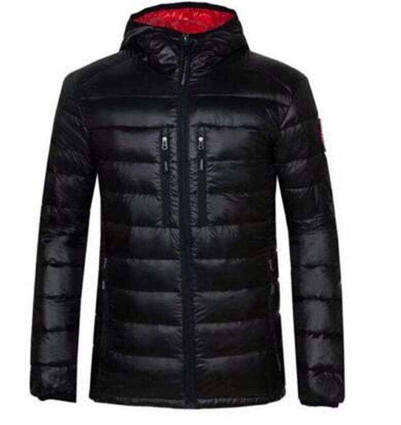 New Style Canada Luce Down Jacket Parka alta qualità caldi all'aperto cappotto casuale di sport Mens Parka Stylist Outerwear