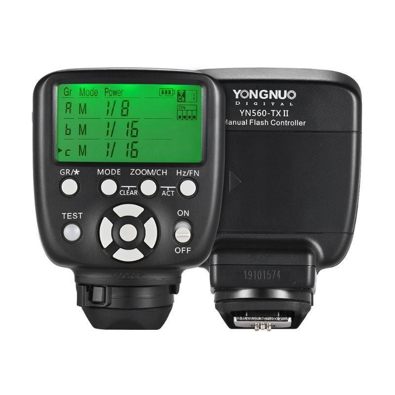 Aggiornato YN560-TX II LCD Flash Trigger Remote Controller per YN560IV / III YN660 968N YN860Li Speelite