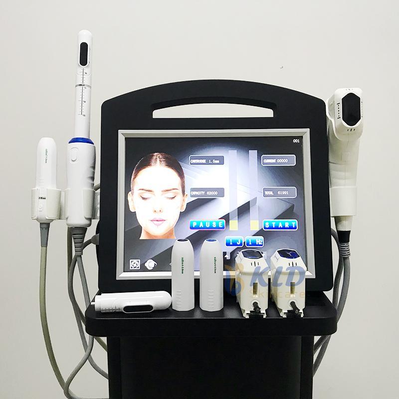 8 картриджей 4D Hifu вагинальный омолаживающий станок Hifuvmax портативный подъем лица для лица тонкий вагина терапия Hifu3in1