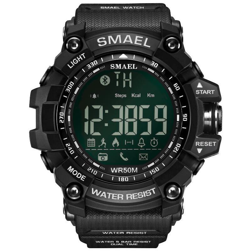 Mayforest 50Meters Swim Dress Sport Mens Orologi Smael dell'esercito Marca Verde Fashion Style Big Dial Orologi Uomini Digital Sport Maschio Clock 1617B