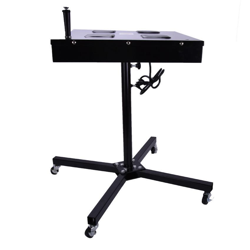 1PC 1650W مجفف فلاش لآلة الشاشة الحريرية معدات الطباعة ND604 منطقة التجفيف آلة التجفيف الرقمية 400 * 400MM