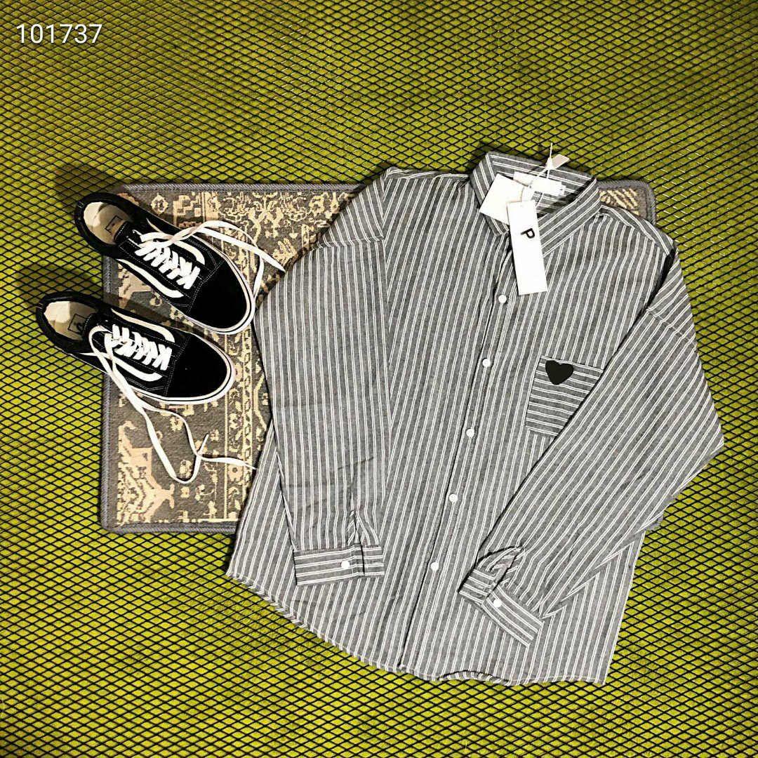 Gli uomini delle donne di modo camice casuali 20s nuove camice Autunno maniche lunghe con donne Streetwear Mens Patchwork di alta qualità Camicia M-XL