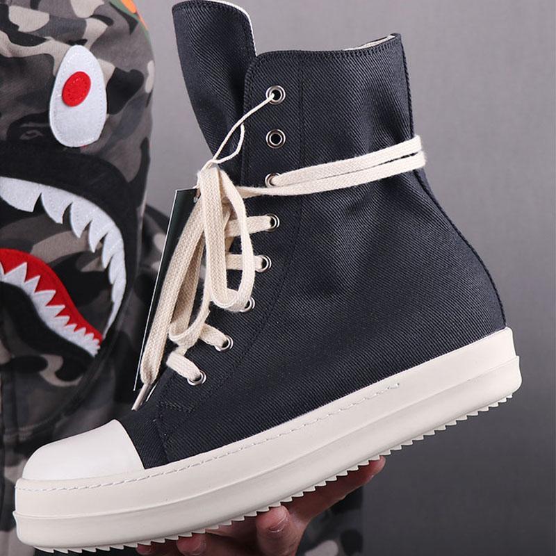 letras de volta maré alta-top sapatos sapatos masculinos de lona da forma dos homens tênis de cano alto mulheres botas