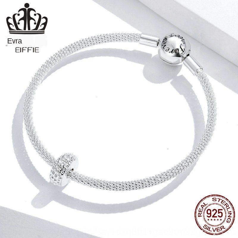 FULV4 Avle argent sterling de la mode S925 positioningDiy bracelet Avle argent sterling de la mode S925 positioningDiy accessoires bracelet bracelet