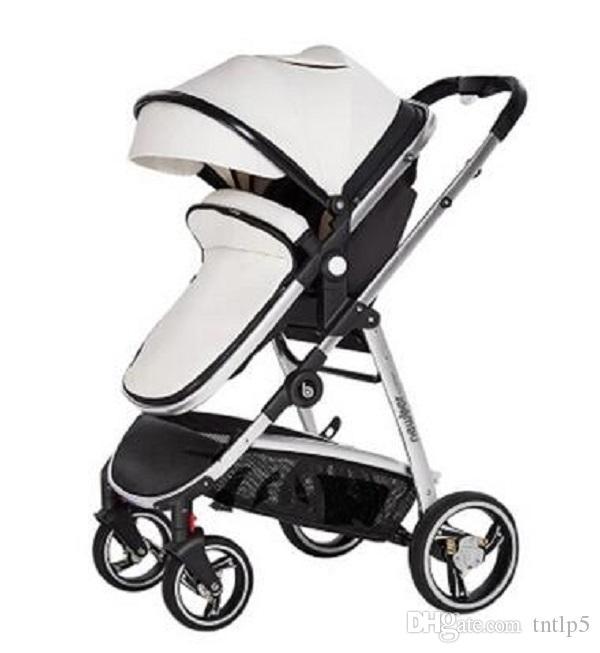 2020 Nuevo paisaje de alta recién nacido cochecito de bebé sentado y acostado bebé carro cochecito cochecitos de bebé
