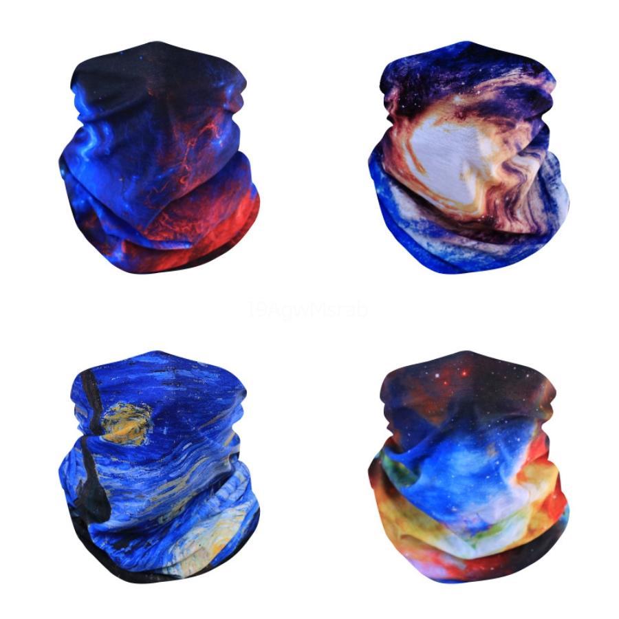 7VlJY 3D comodines Headwear del payaso máscara de esquí bufanda mágica cuello Buff Bandana comodines pasamontañas diadema para el ciclismo de Motociclismo Running magia Fa # 744