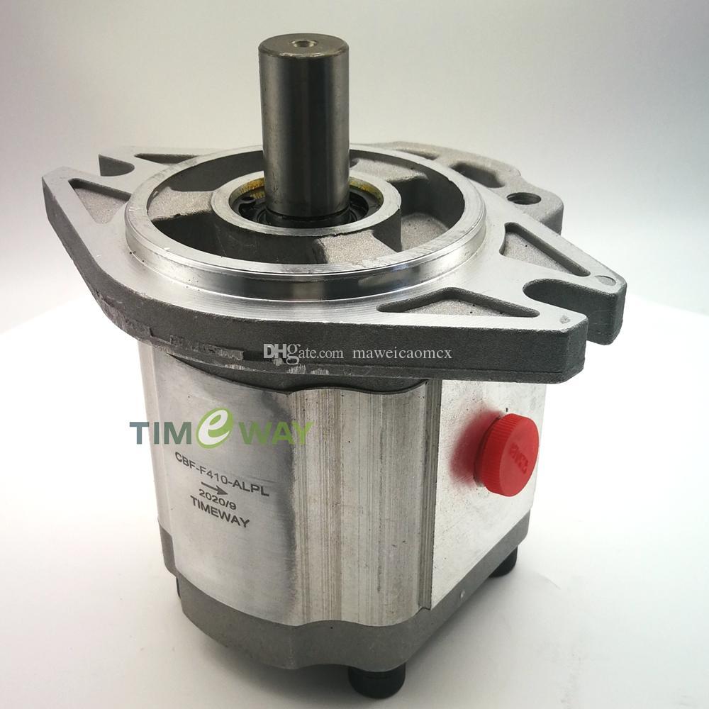 Lega di alluminio Materiale pompa idraulica Pompa a ingranaggi CBF-F410-ALP-CBF F412.5-ALP CBF-F418-ALP CBF-F420-ALP CBF-F425-ALP ad alta pressione pompa