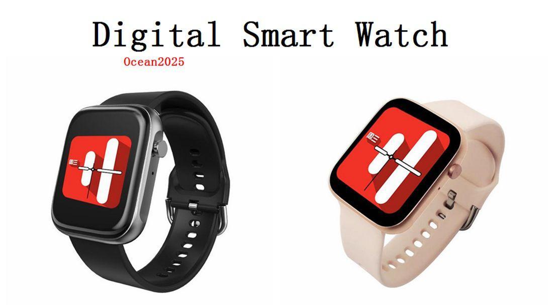 Digital Sport SmartWatch монитор сердечного ритма диапазона артериального давления Shock Часы Для женщин Для мужчин с розничной коробки